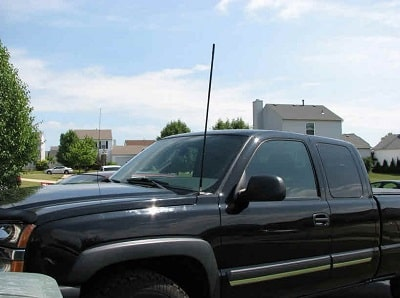 best place to mount CB antenna on pickup truck