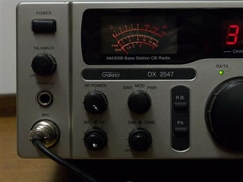Galaxy 2547 CB radio