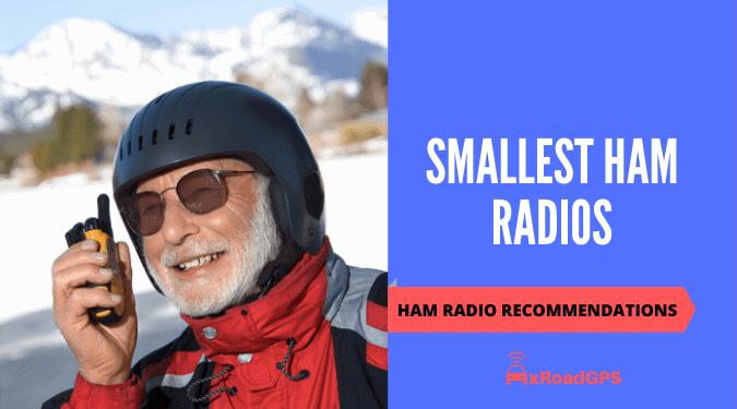 smallest ham radios