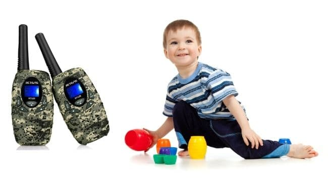 retevis rt628 kids walkie talkies